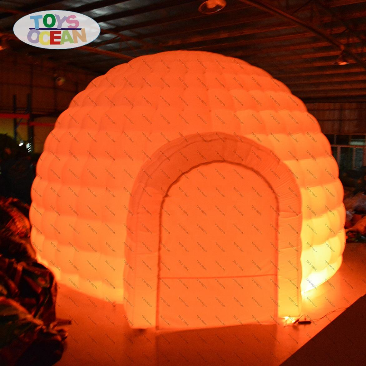 Inflatable Dome Inflatable Igloo with LED Inflatable Air Dome Tent