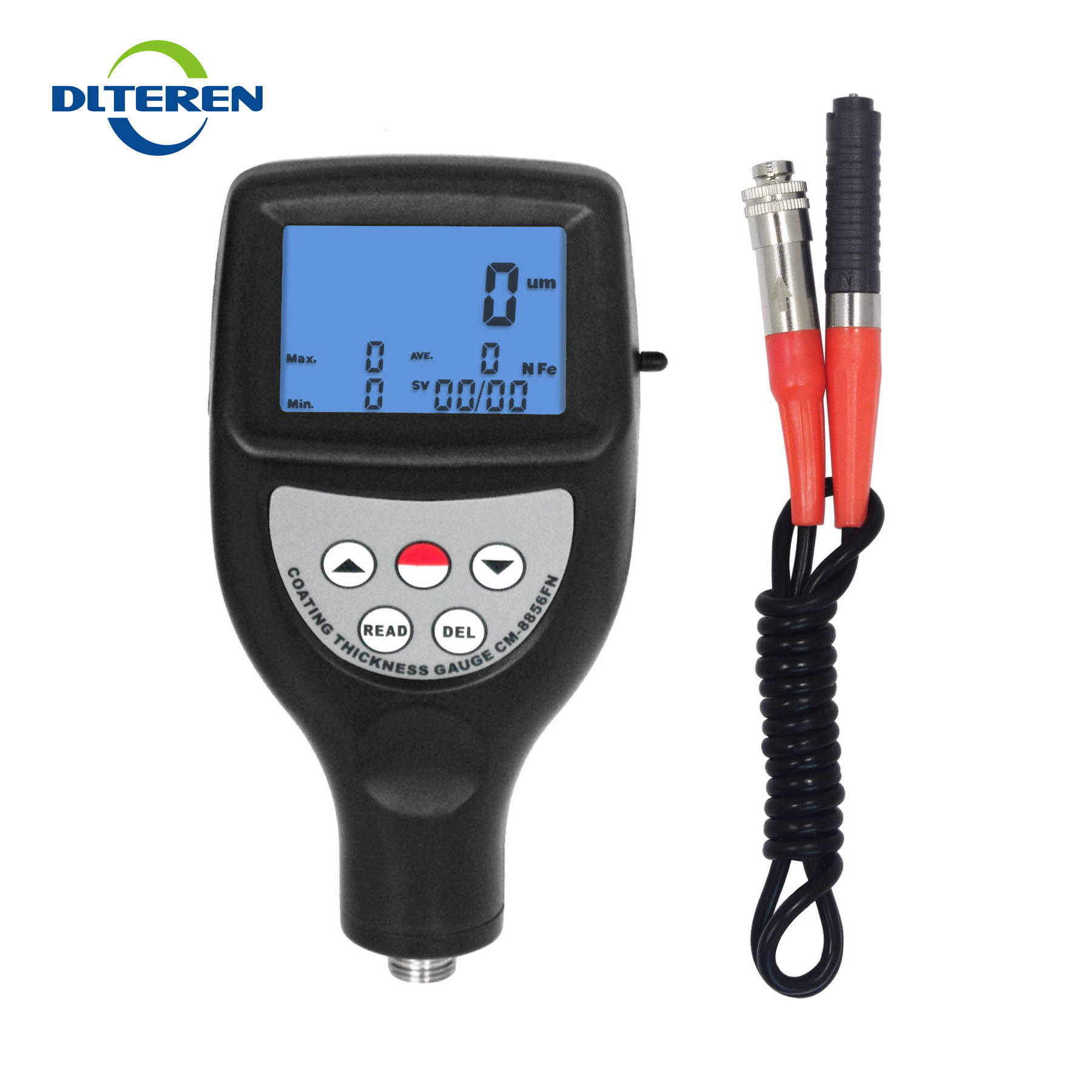 Statistical Type Multifunction Paint Coating Thickness Meter F/N Measure Gauge USB RS-232 Bluetooth