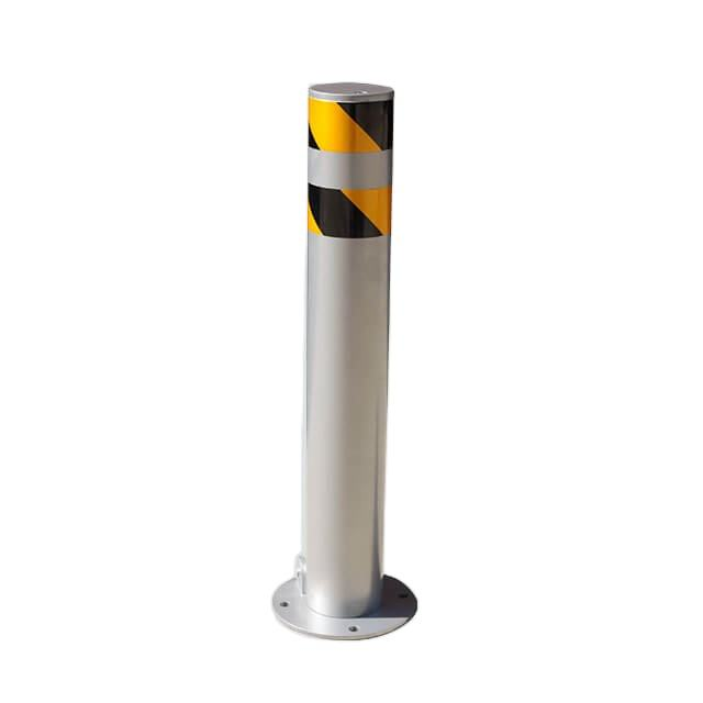 Arlau stainless steel warning road safety fixed traffic barrier parking bollard post