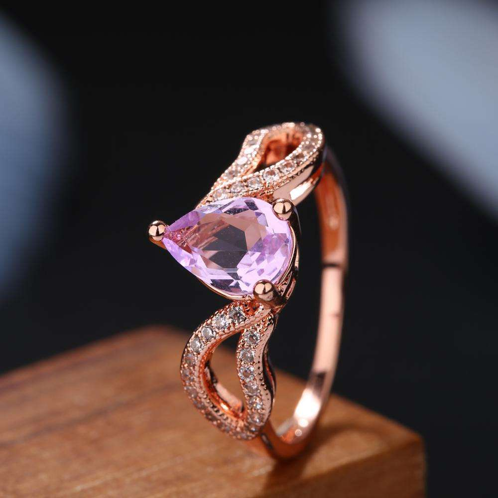 Hot sell High quality Jewelry Stone Ring crystal ring fashion jewelry women ring wedding