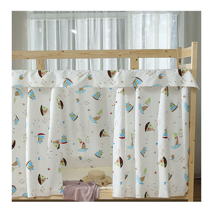 Factory Price Stylish Baby Bed Canopy Curtains Children's Room Tent Curtain Set