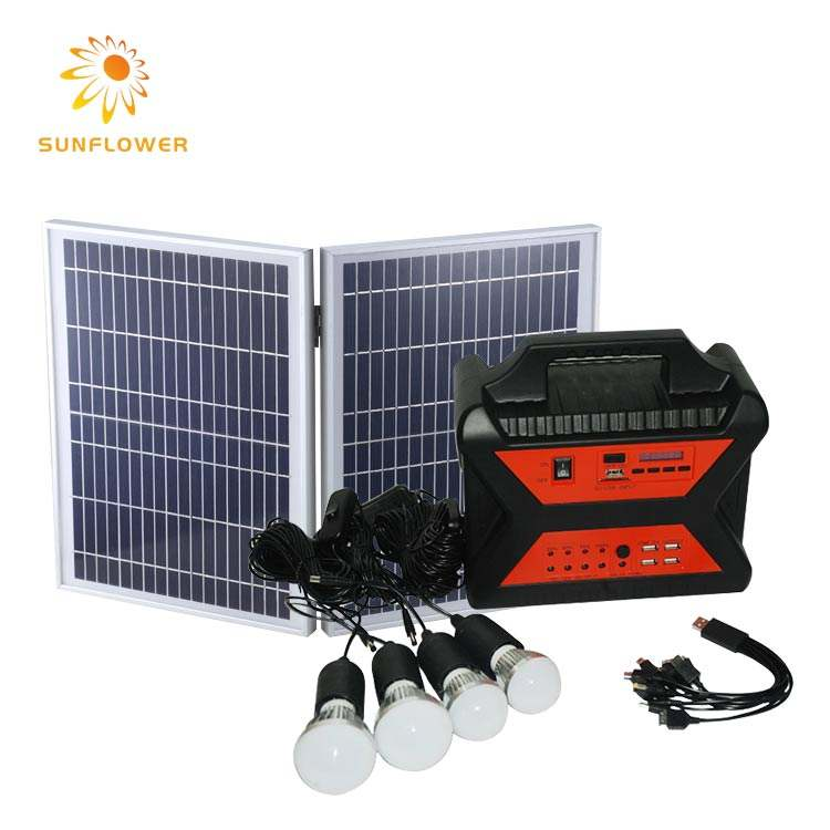 2020 High Quality portable energy home power solar system for home phone charging