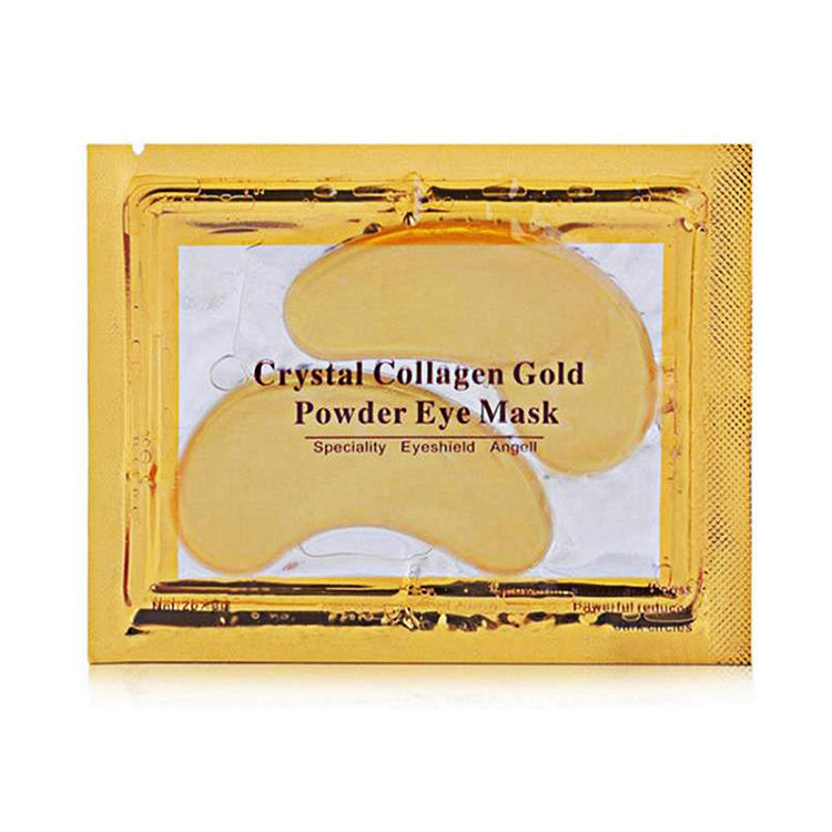 OEM ODM GOLD Crystal Eye Care Smoothing Collagen ลดความหมองคล้ำ Anti-Aging Wrinkle Eye Mask สำหรับ Eye Care