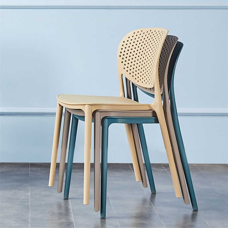 Pp [ Dining Chair Chairs ] Plastic Chairs Dining Cheap PP Polypropylene Leisure Sturdy Plastic Kitchen Dining Chair Armless Plastic Chairs