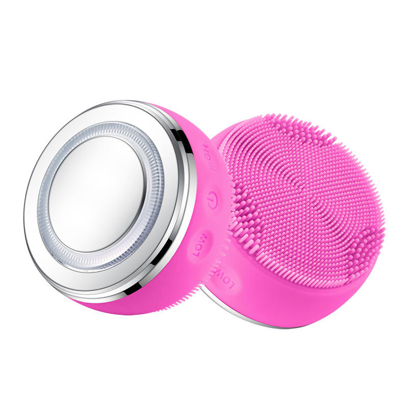2020 new design Silicone Acne Face Cleanser facial Massager Brush facial silicon cleanser electronic