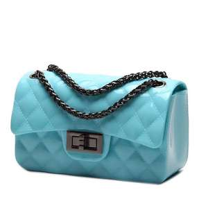 Silicon Quilted Crossbody Bag Luxury Shoulder Handbags Purses For Women Girls