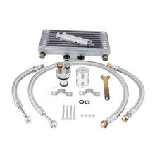 Motorcycle CB CG engine modified oil cooler oil radiator oil cooler for Honda