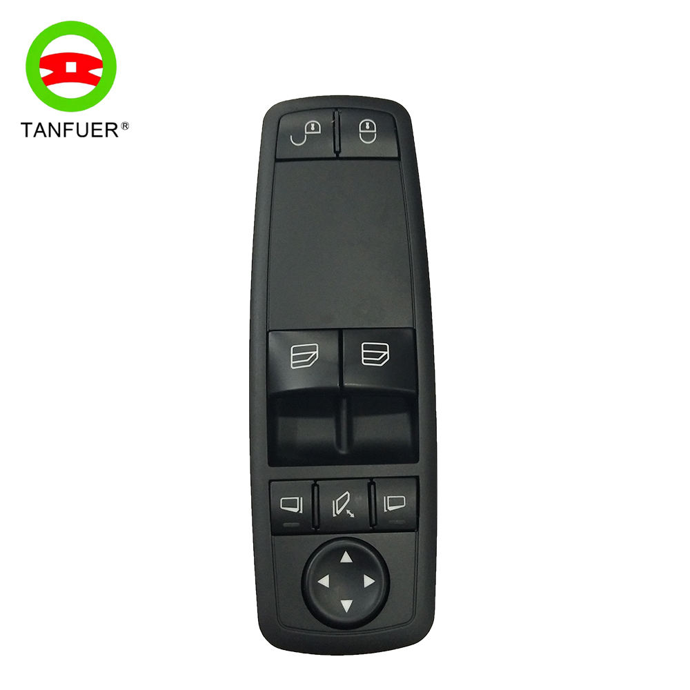 1698206510 Main Position Glass Elevator Right Hand Drive Electrical Window Switch For Mercedes-Benz