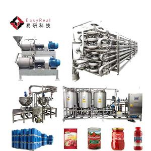 Automatic Tomato Paste Making Machine Tomato Sauce Production Line Tomato Ketchup Processing Plant