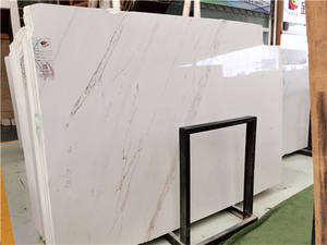 China White Marble slabs countertops staris customersized tiles