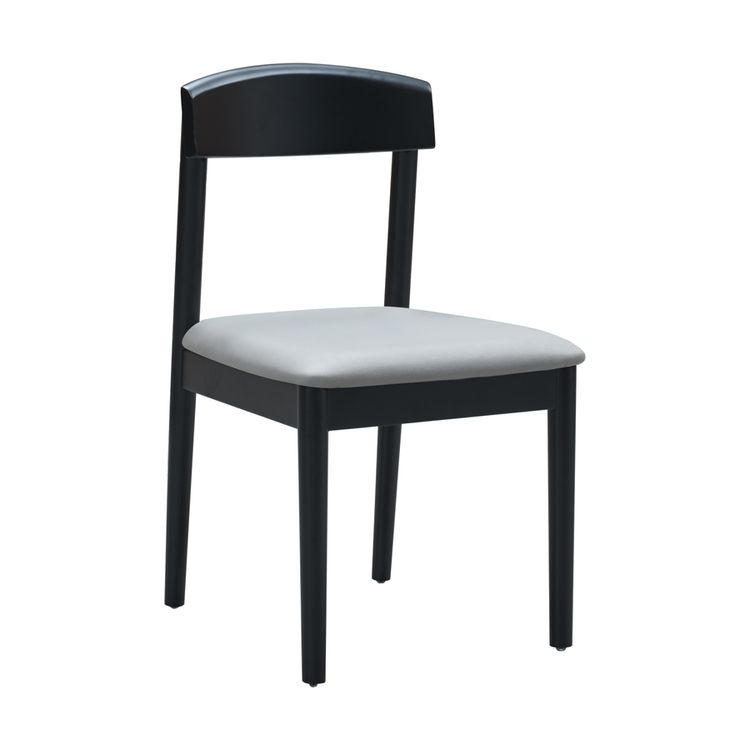 Ex-factory Price Simple Multicolor Solid Wood Frame Dining Chair