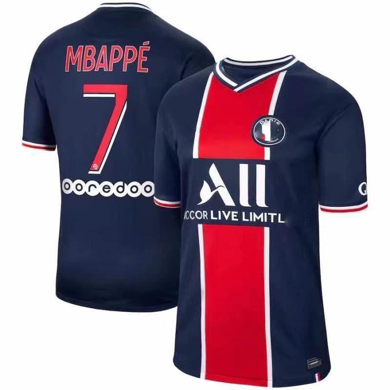 20-21 retro classic football jersey Paris football shirt