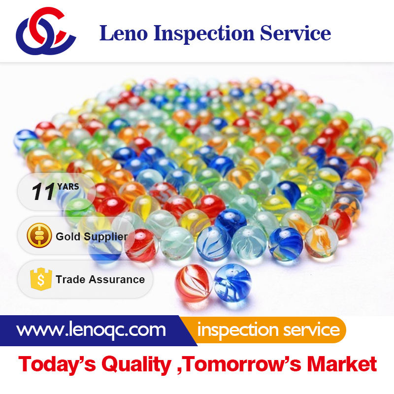 Glass ball Pre-Shipment Inspection Services- Third Party Inspection 100% Quality Control Asia Quality
