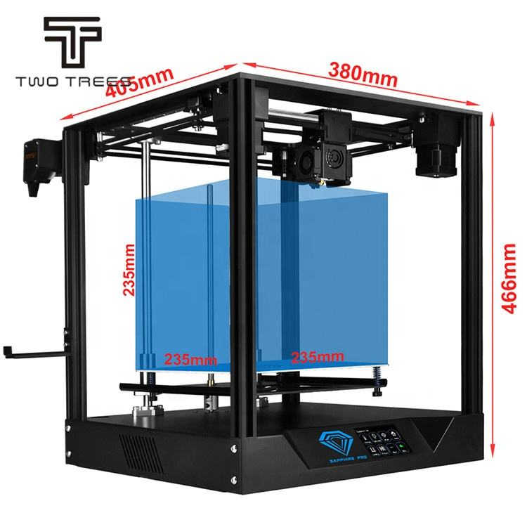 TWO TREES Sapphire pro MKS motherboard Linear rail BMG extruder large area printing 3d impresora 3D printer