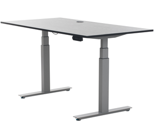 Dual motor quite electric desk lift height adjustable standing desk sit stand office desk