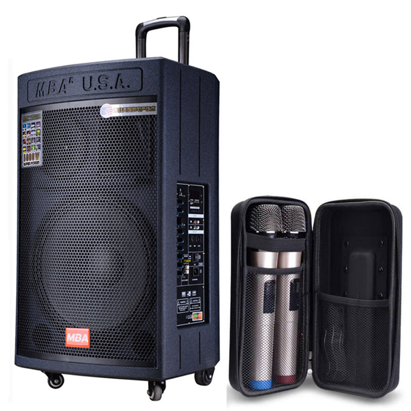 MBA 10 Inch Speaker Woofer Harga UHF Mikrofon Bluetooth Kayu Famsoon Trolley Speaker Profesional <span class=keywords><strong>Power</strong></span> Amplifier Speaker