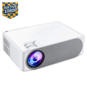 [Amazon Hot Native 1080p Projector] 6000 High Lumens Native 1080p 4K Full HD LED LCD Portable Video Home Theater Projector