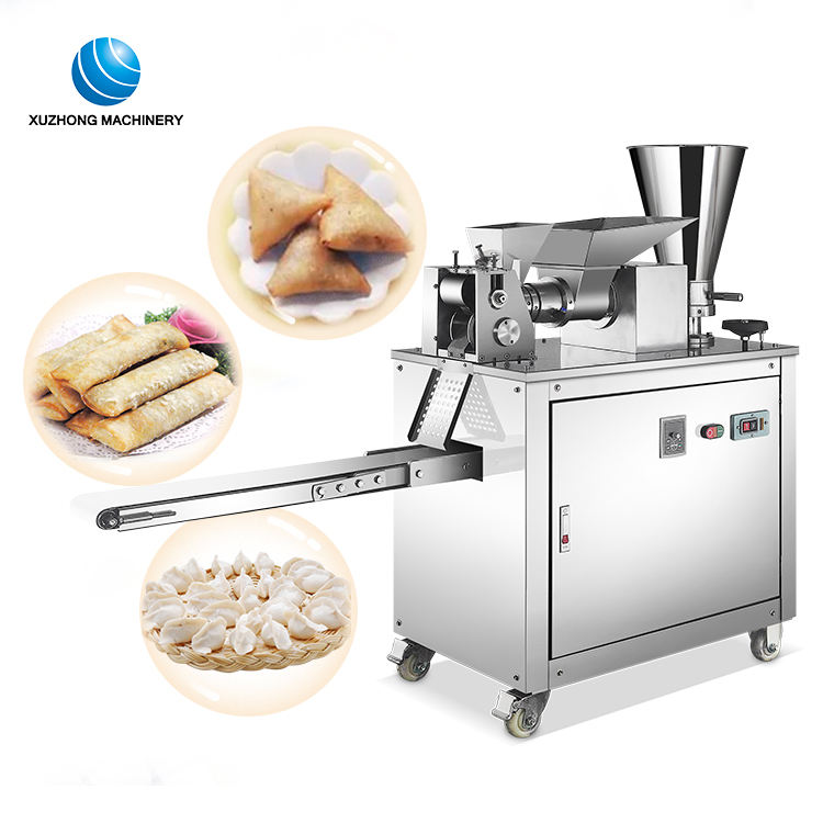 Commerciële Samosa Making Machine/Empanada Machine/Momo Samosa Loempia Machine