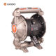GODO QBY3-25AP Stainless Steel fuel pump Pneumatic Diaphragm Pump water pump