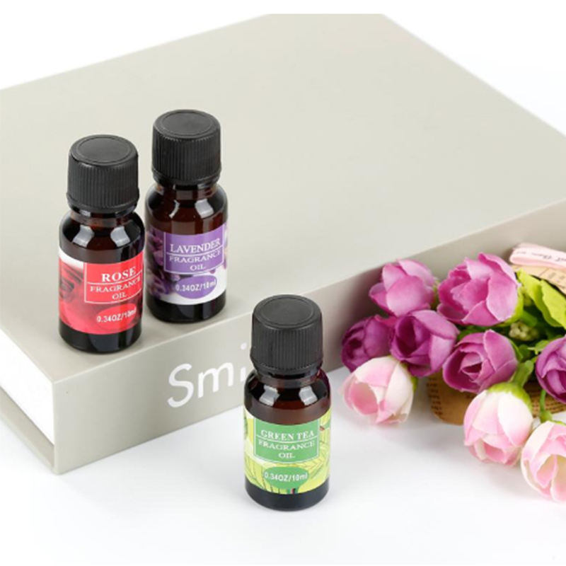 Hot 10ml Water-soluble Essential Oils Flower Fruit Essential Oil For Aromatherapy Diffusers Air Freshening Body Relieve