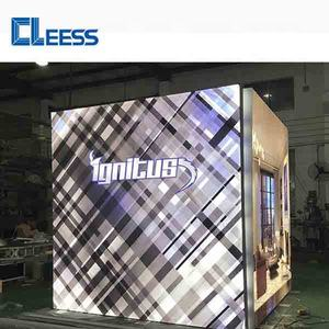 China Aluminum Frame LED Trade Show Exhibition Booth Stand