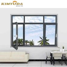 High quality Thermal break aluminium triple glazed windows sound insulation australian standard skylight tempered glass windows