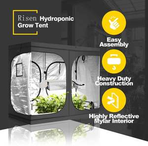 Indoor Complete 3 Garden Large 600D Oxford Fabric X Kit 10X10 Grow Tent 2 In 1
