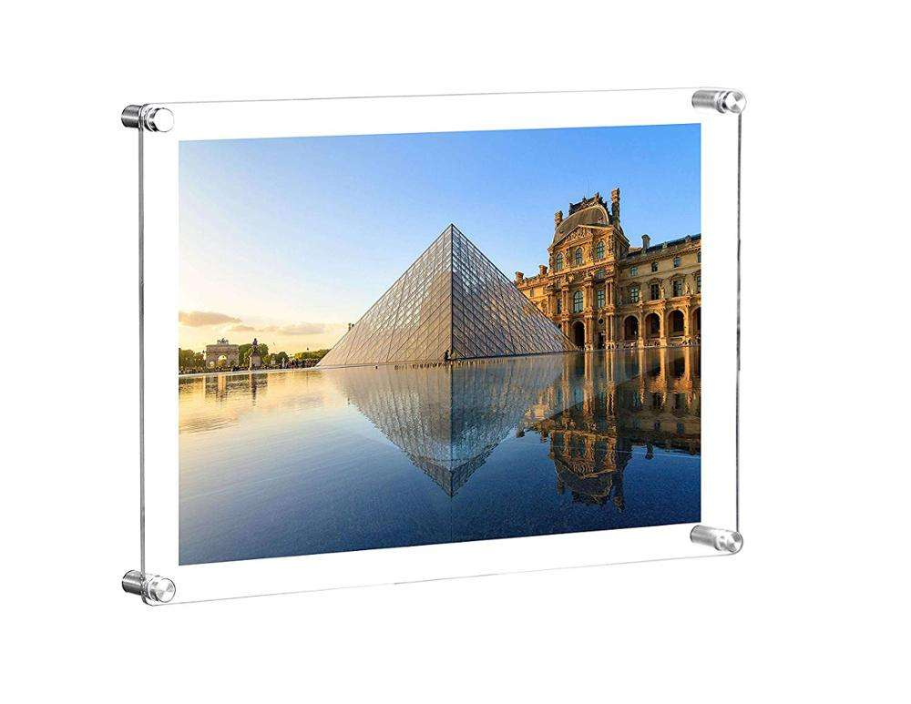 Beautiful Clear Acrylic Picture Frames Wall Mount New Design Acrylic Photo Frame With Best Quality