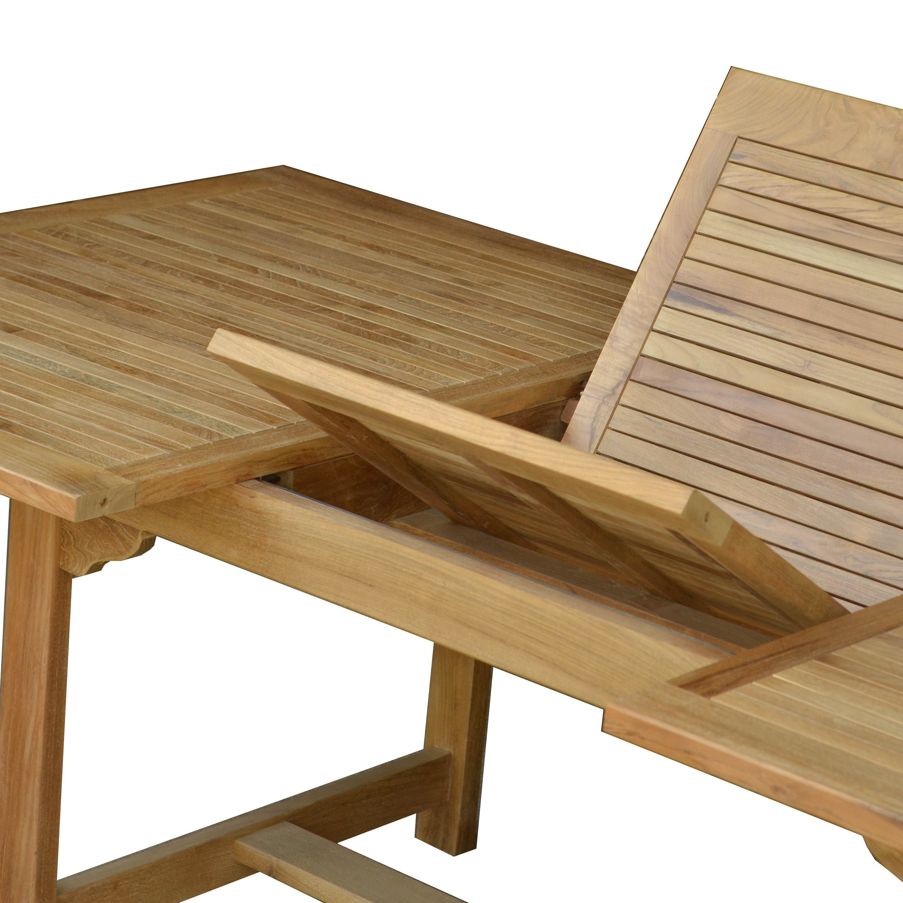 Best Quality Bernadette Extention Table From Teak Wood For Outdoor Furniture