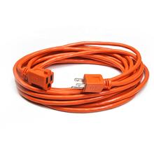 25 Ft Orange  Outdoor   USA Extension Cord -16/3 SJTW Heavy Duty Outdoor Extension Cable with 3 Prong Grounded Plug