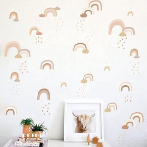 New Design Cartoon Diy Decal Stickers Rainbow Pvc Wall Sticker