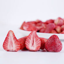 Healthy Food 100% Natural Crispy Freeze Dried Strawberry Dried Strawberry
