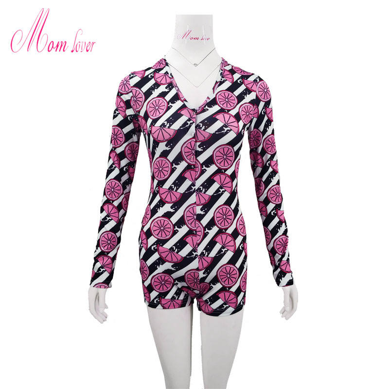 ML2040 Fashion Design printed FRUIT sexy sleepwe nighty for ladies