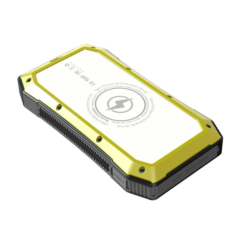 Wholesale Solar power wireless universal rugged 20000mAh power bank with Portable Charger