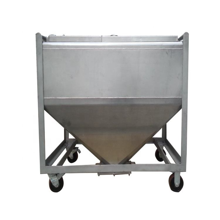 Dalian stainless steel ibc tote tank for diesel fuel used tanks 1000 ltr