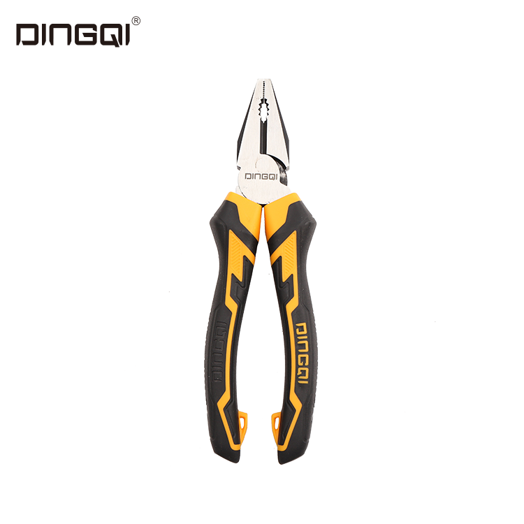 DingQi Hand Tool Germany Type 6 to 8 Inch Combination Plier With Tpr Handle For Cutting save 30% energy