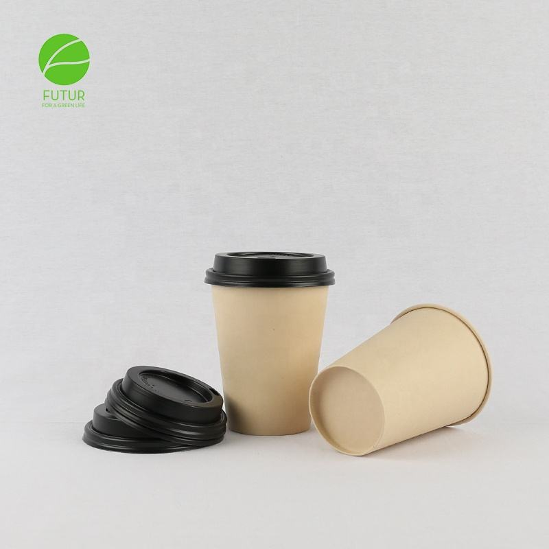wholesale compostable biodegradable paper cups 24oz