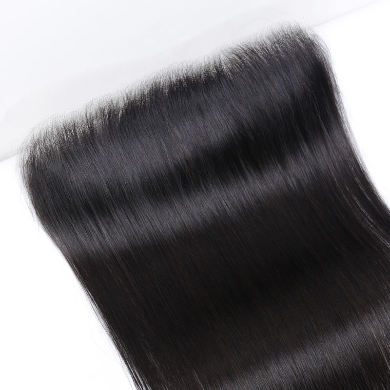 New Design wholesale Human Hair Frontal Slik Based Preplucked Hd Transparent Swiss Lace Frontal