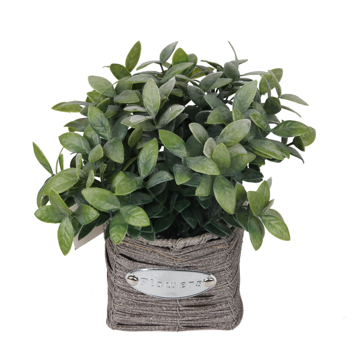 Artificial decorative plants real touch 22 cm green leaves potted artificial bonsai plants for indoor home office decoration