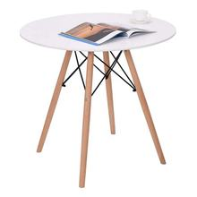 Modern Leisure Round Coffee Table Kitchen Dining Table