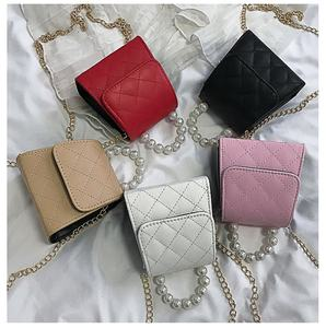 2020 high quality brand fashion small women purses pink tiny handbag for women jelly purses mini coin purses in low price