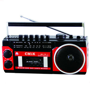 CMiK MK-134 Newest Cassette Player with AM FM Multiband Radio audio MP3 Portable Cassette Tape Recorder