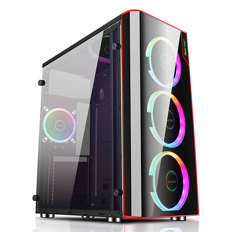 Side Glass Panel Shuguang PC Gaming Computer Case
