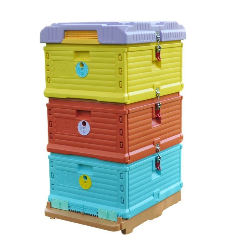 Plastic-bee hives 10 frames with drawer hive plastic
