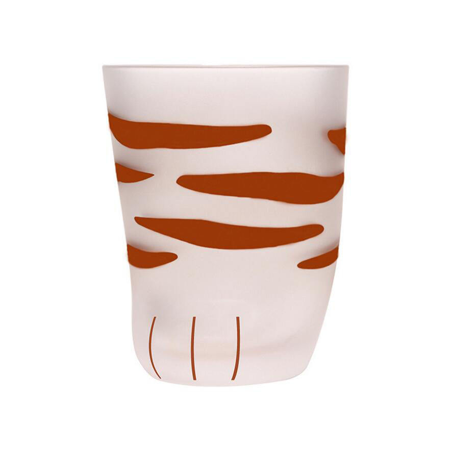 Japanese Style 230 ML Cat Paw Heat-Resistant Glass Mug 300 ML Cat Legs Cute Cup