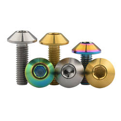 Golden color Titanium Coating Bolts and nuts for Honda