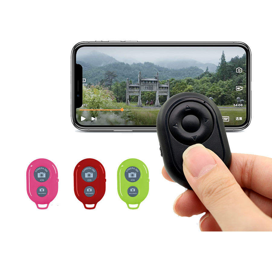 Mini size Universal selfie stick Bluetooth Shutter remote price Bluetooth Shutter button for IOS/Andriod