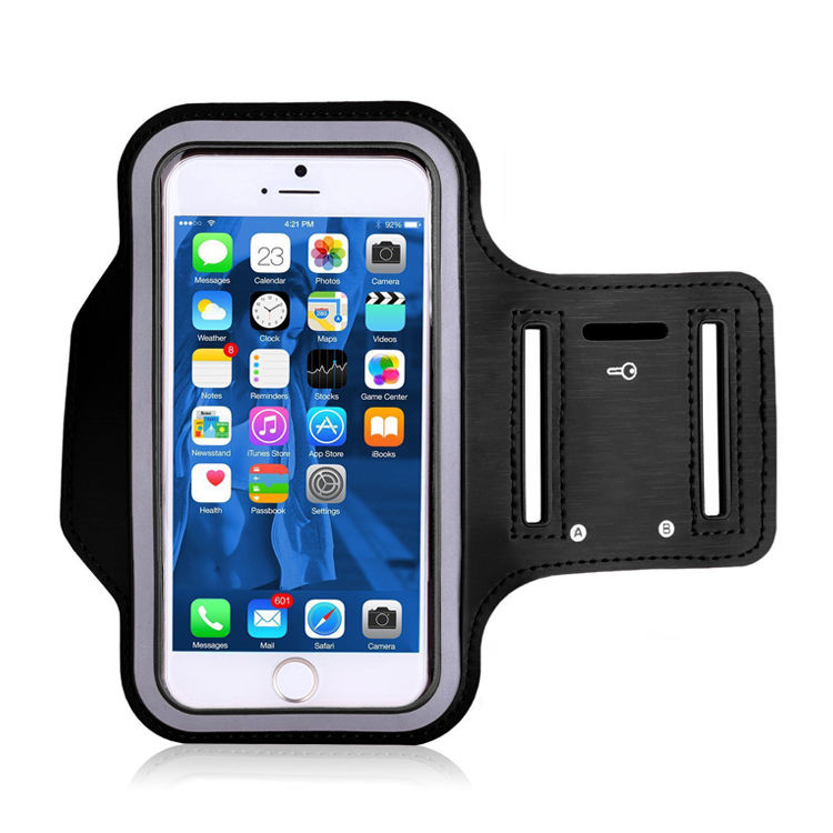 Sports Running Mobile Phone Arm Bag Armband Waterproof Neoprene Cell Phone Arm Case