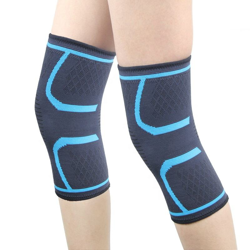 Adjustable Knee Support Elasticity Knee Sleeve Cover for Joint Pain & Reduce Stress