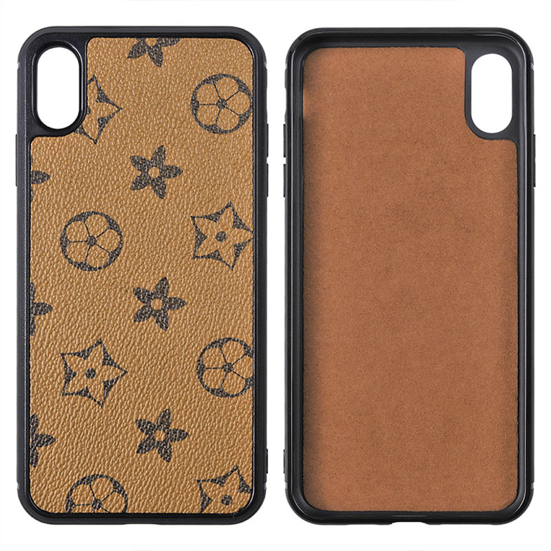 Marke telefon fall Mode PU <span class=keywords><strong>Leder</strong></span> Muster plaid für iphone X XS Max Pu fall für iPhone 11